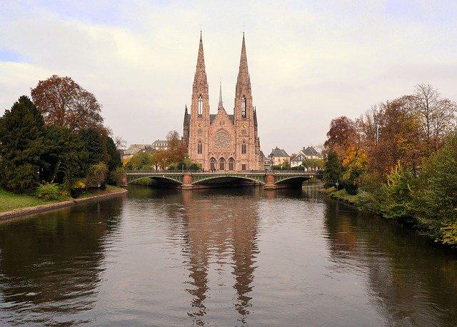 kostel ve Strasbourgu