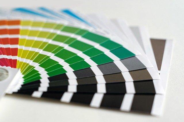 vzory barev na výmalbu