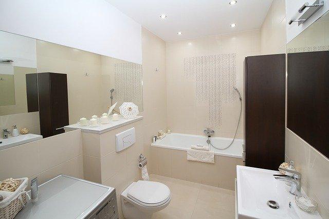 vybavená koupelna