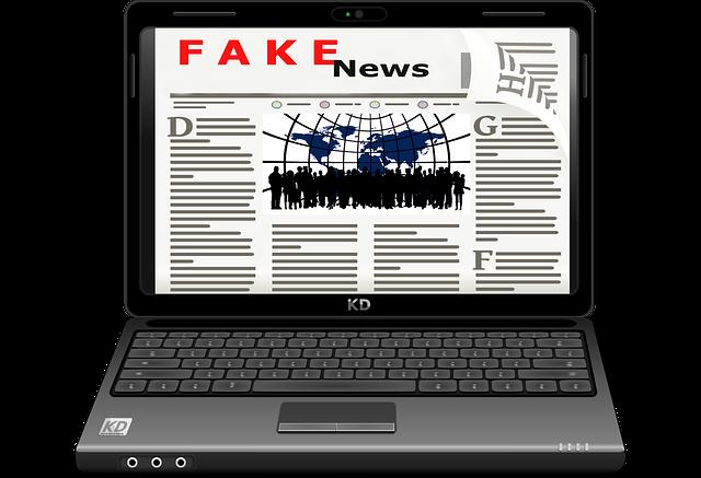 falešné novinky na netu